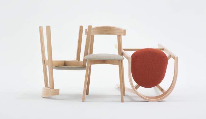 Krzesła UXI zaprojektowane przez Rygalika dla marki Paged