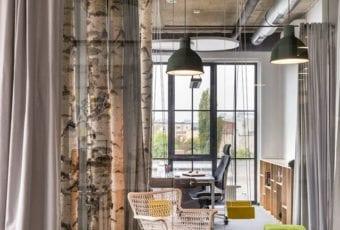 Kreatywna przestrzeń do pracy