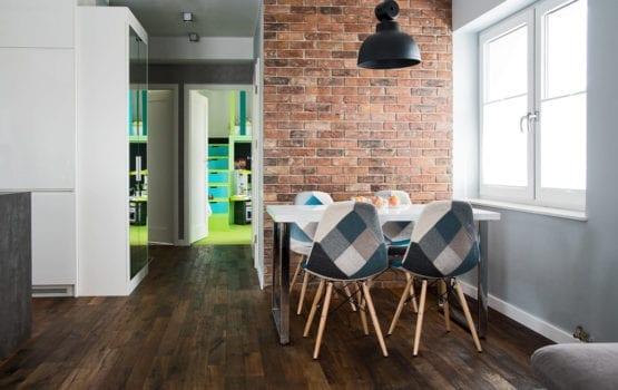 Mieszkanie nowoczesnych rodziców