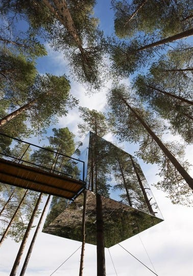 Treehotel projektu Tham + Videgard Hansson Arkitekter (Foto. tvark.se)