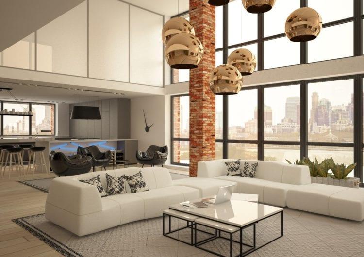 Loft w dolnej części Manhattanu z polskim akcentem