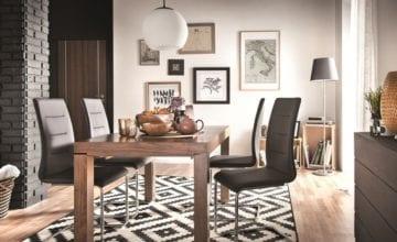 Nowość od Paged – metalowe z tapicerowanym siedziskiem