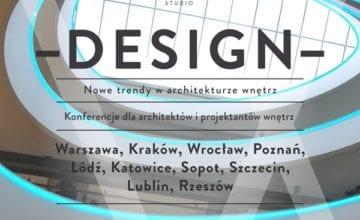 DESIGN – nowe trendy w architekturze wnętrz