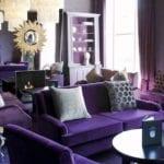 Mieszkanie w kolorze Ultra Violet Color of the Year 2018