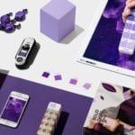 Aranżacja w kolorze Ultra Violet Color of the Year 2018