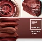 Moodboard Marsala Color of The Year 2015