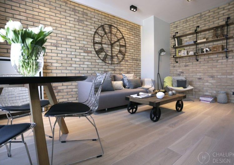 Apartament post-industrialny