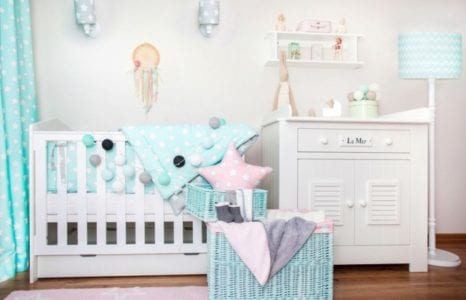 Pastelowy pokój małej księżniczki
