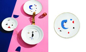 Unikatowe talerze dekoracyjne