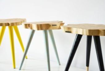 Limitowane wersje mebli z drewna