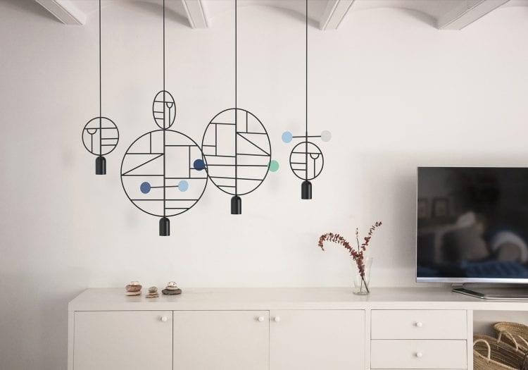Geometryczne lampy