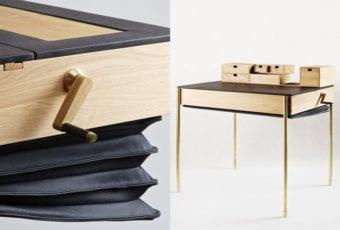 Magdalena Tekieli Design: sekretarzyk w stylu Art déco