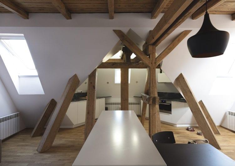 Mieszkanie z wieżyczką