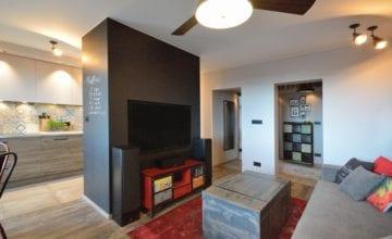 Mieszkanie w stylu vintage na Tarchominie