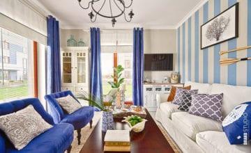 Apartament w stylu marynistycznego Hampton