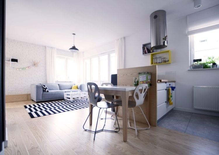 Mieszkanie z podestem