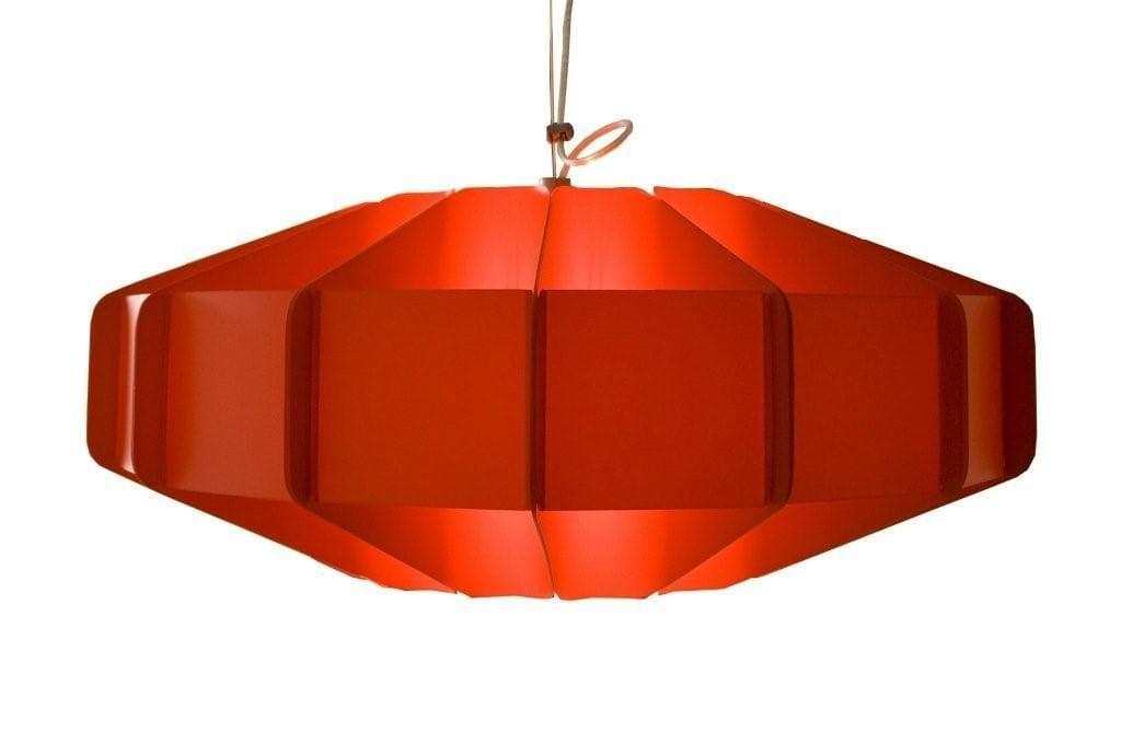 Czerwona lampa Alien projektu marki Kafti #1