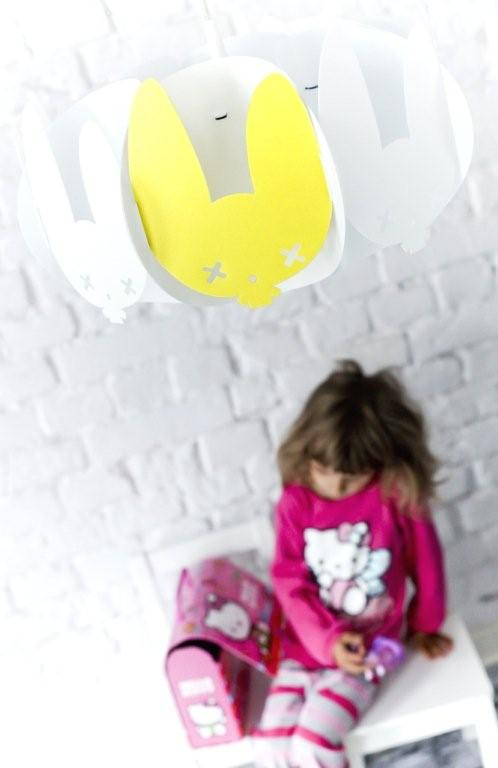 Żółta lampa Buxy projektu marki Kafti