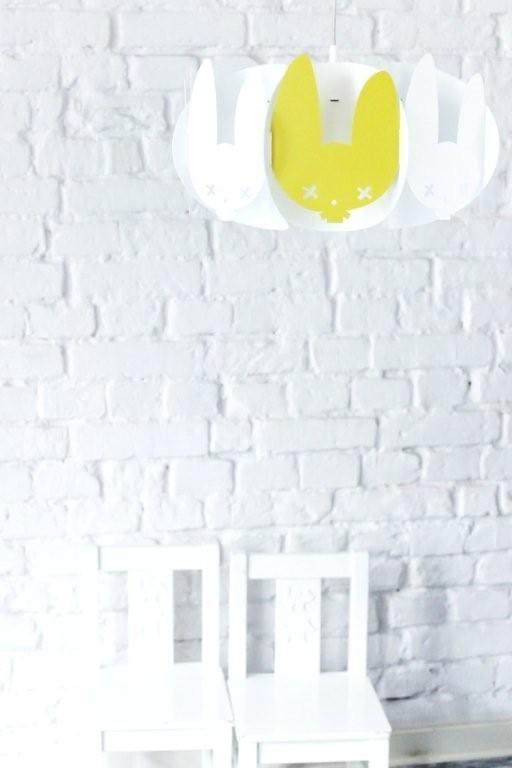 Żółta lampa Mishka projektu marki Kafti