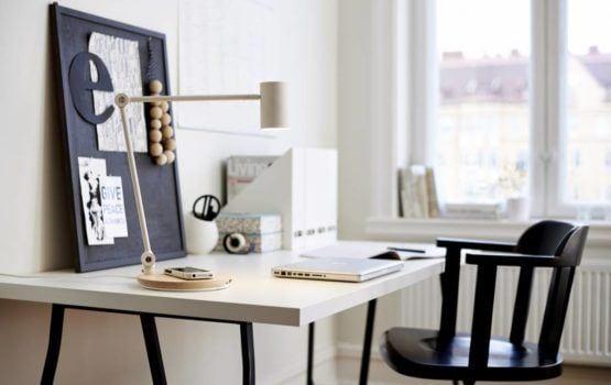 Lampa RIGGAD od IKEA projektu Davida Wahla