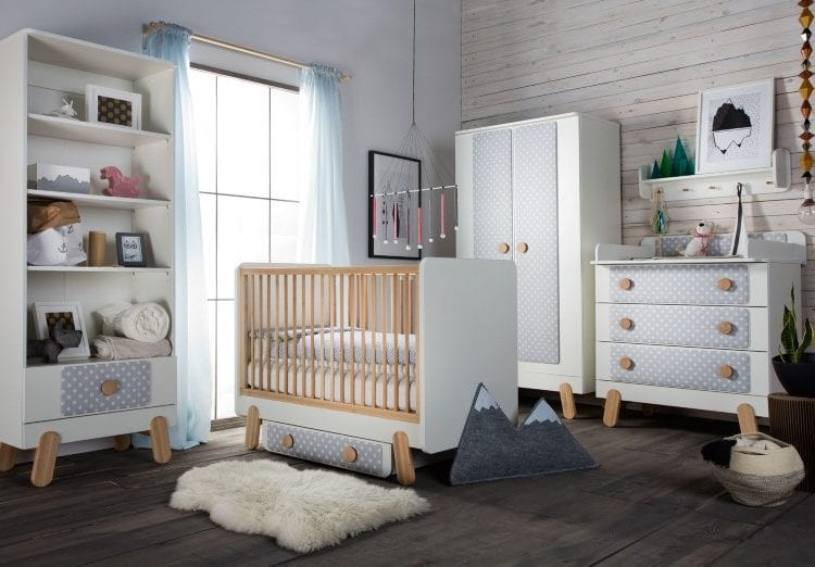 Pinio: nowy zestaw mebli dziecięcych w stylu skandynawskim