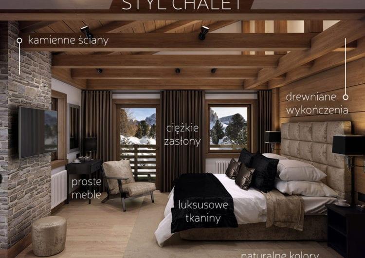 Styl chalet – górska chatka w wersji de luxe