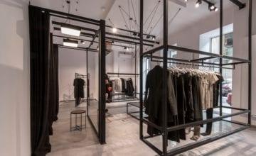Acephala Concept STORE – moda w industrialnym wnętrzu