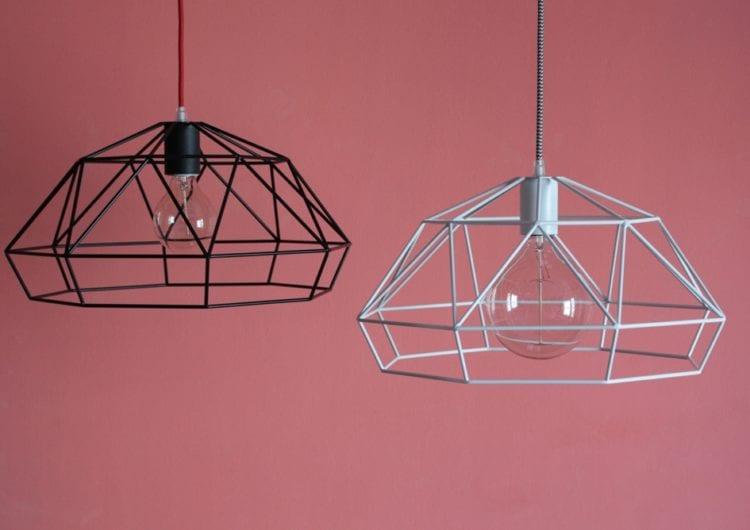 HEXAL design: lampy inspirowane geometrycznymi, przestrzennymi formami