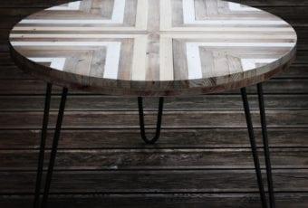 Piece of Wood: meble do wnętrz scandi, loft oraz industrial