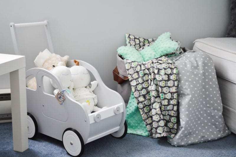 Dekoracje w pokoju dla niemowlaka