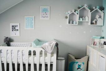 Pokój dla niemowlaka jak z magazynu