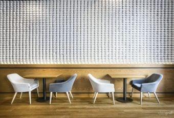 Kawiarnia C Corner Cafe projektu pracowni Ideograf