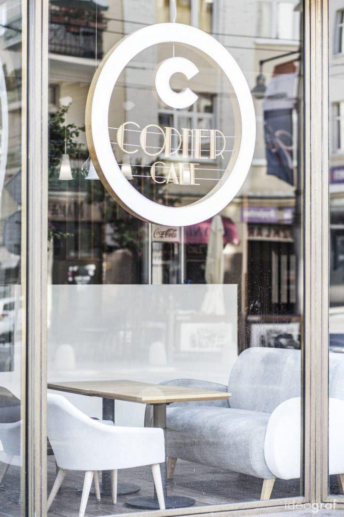 Kawiarnia w Gdyni - C Corner Cafe - projekt pracownia Ideograf