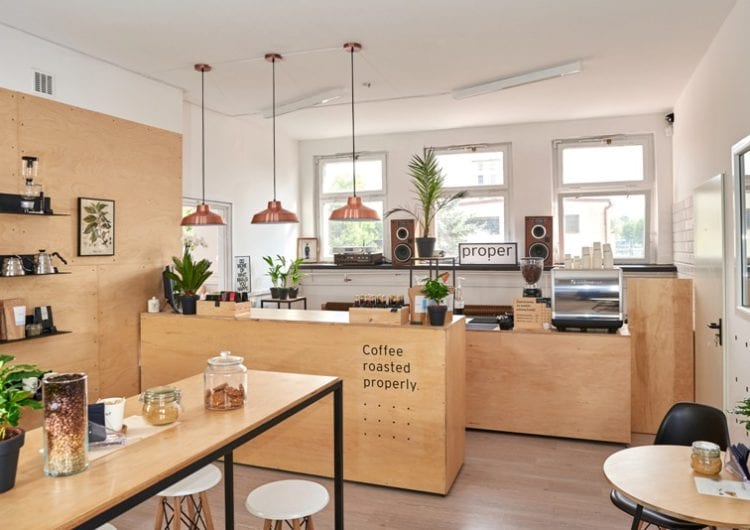 Kompleksowy projekt palarni kawy