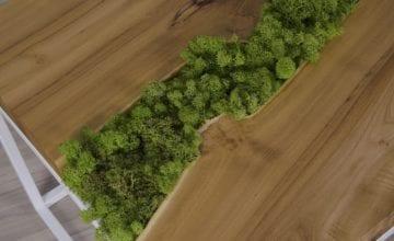 Malita Just Wood: na nowo interpretują drewno