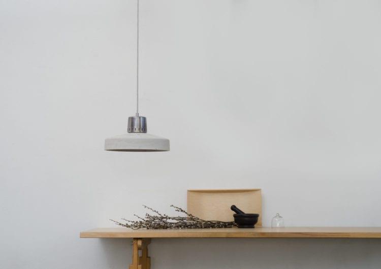 LOFTLIGHT: lampy z betonu