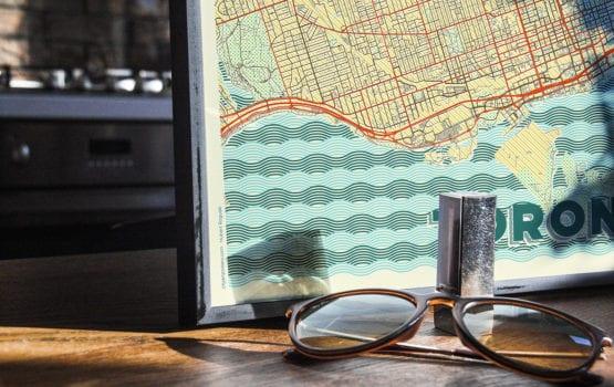 CityArtPosters: designerskie mapy na ścianę