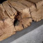 Andronikus sęk w blacie stołu ze starego drewna, stare deski, drewno z recyklingu