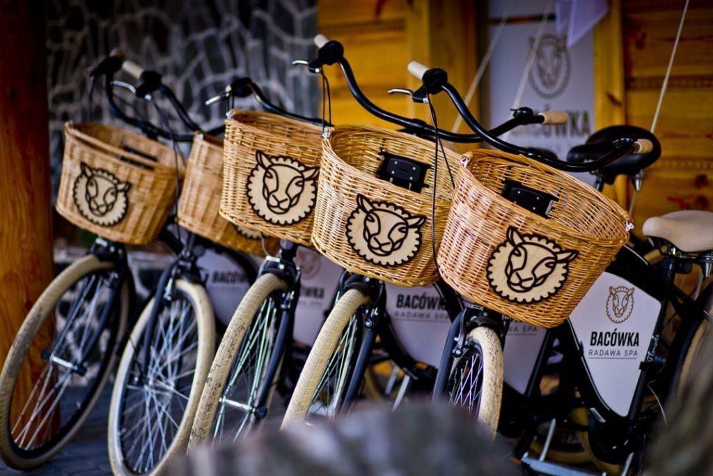 Rowery w Bacówka Radawa SPA