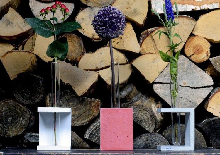 Projekt B25: beton architektoniczny w elementach wnętrz