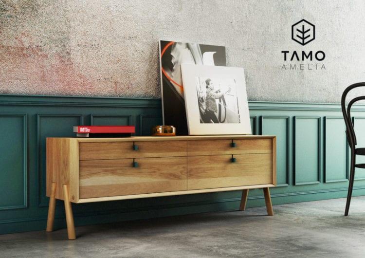 TAMO: ergonomiczne i funkcjonalne projekty z litego dębu