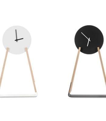NUUA: zegar z drewna
