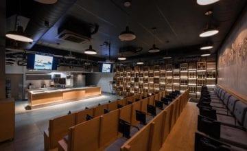 Industrialne wnętrze Akademii Kulinarnej