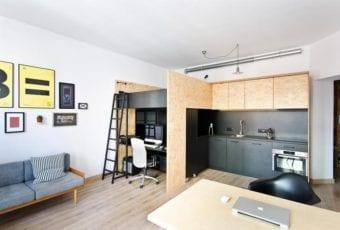 Wielofunkcyjna przestrzeń na 37 m2