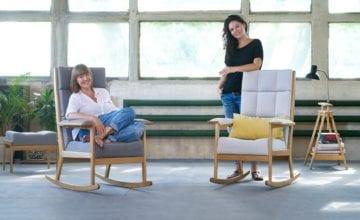 Lili Living: projekt fotela inspirowany designem lat 50. i 60.