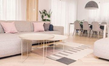 Wnętrze subtelne i minimalistyczne