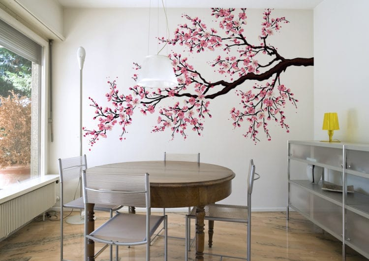 Myloview.pl: Naklejka ścienna z drzewem – dekoracja, która odmieni Twoje wnętrze