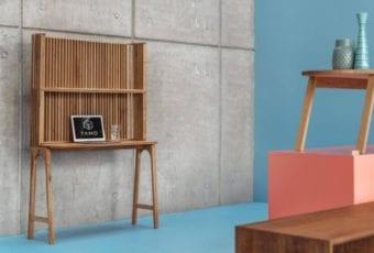 TAMO: sekretarzyk z drewna