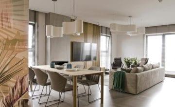 Apartament w pastelach