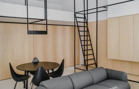 Szkielet brył – Apartament pod Wawelem w Krakowie